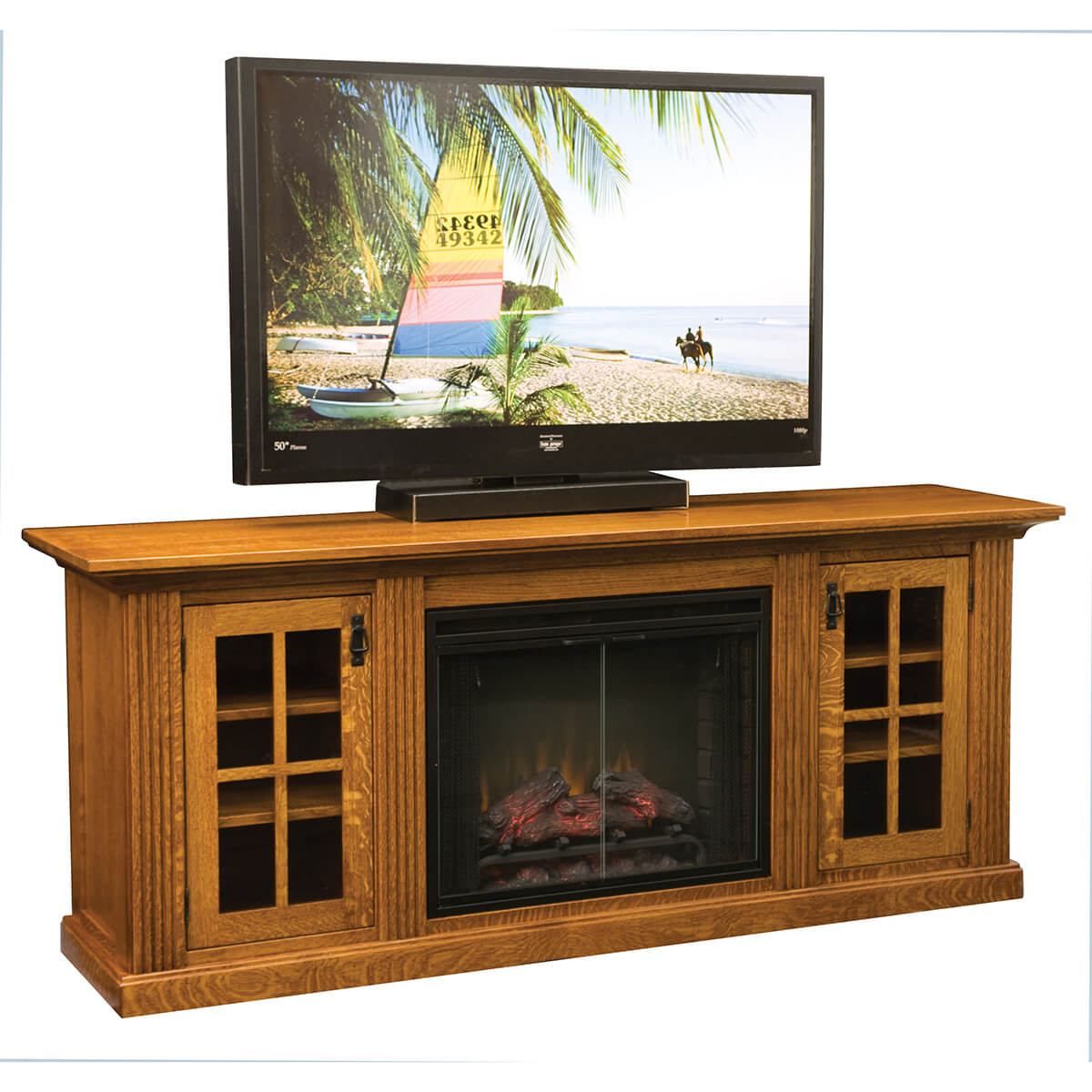 Weston Home Theater Fireplace