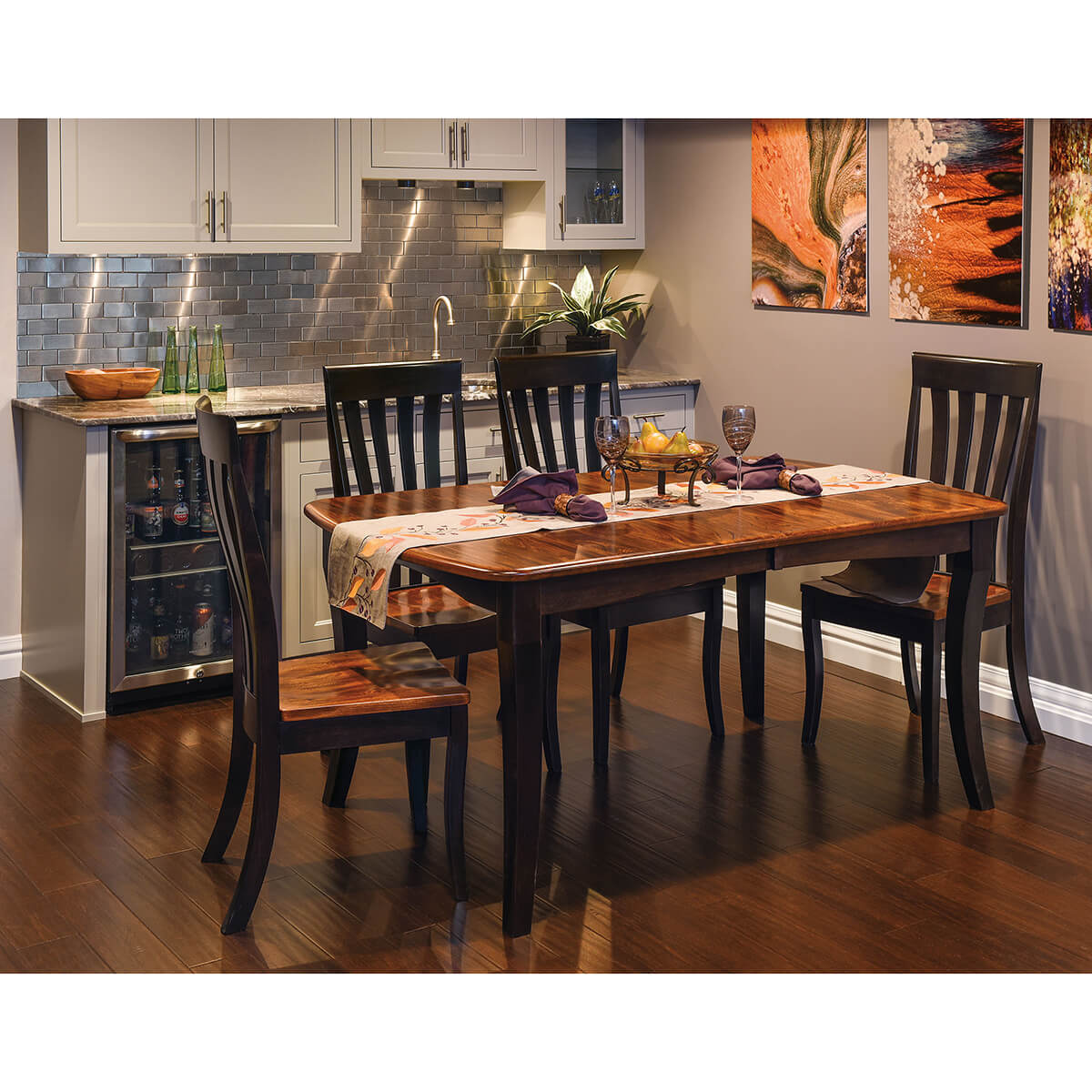 Canterbury Dining Collection with Artisan Chairs