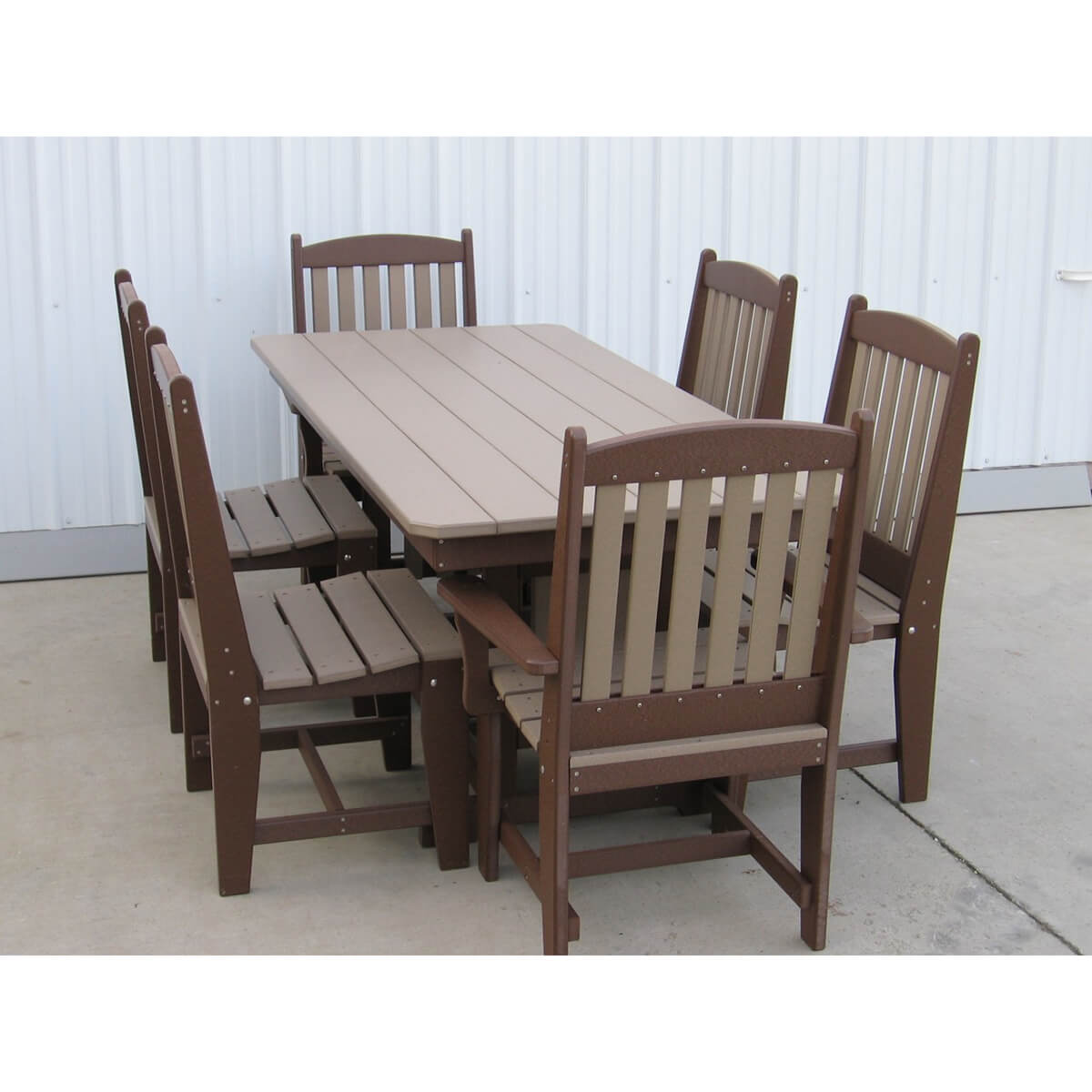 72 Inch Rectangle Table with Chairs