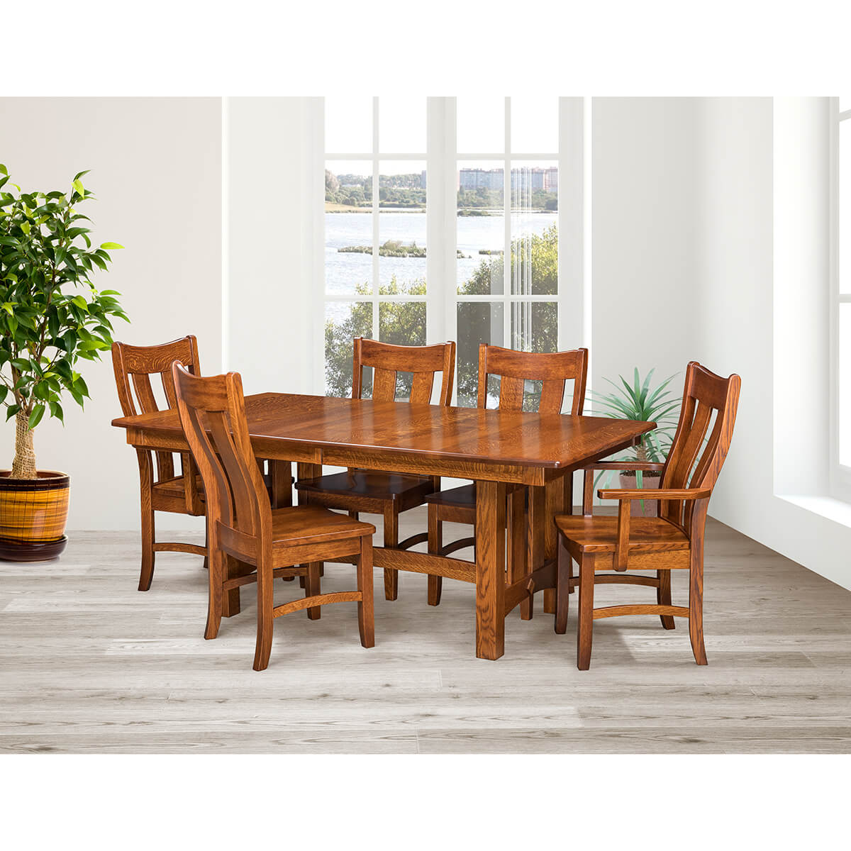 Country Shaker Trestle Dining Collection