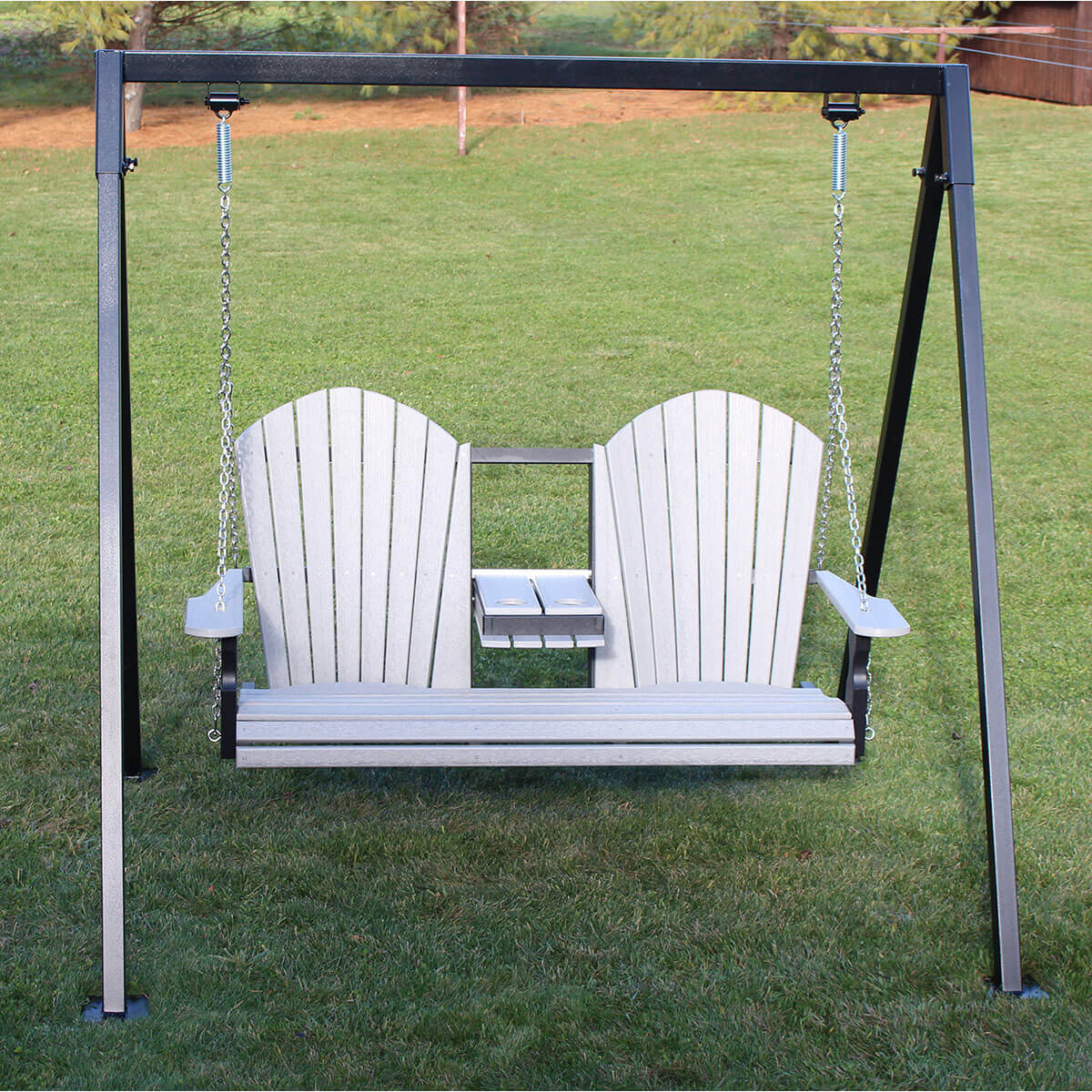 5 Foot Classic Swing with Console and Metal Swing Frame