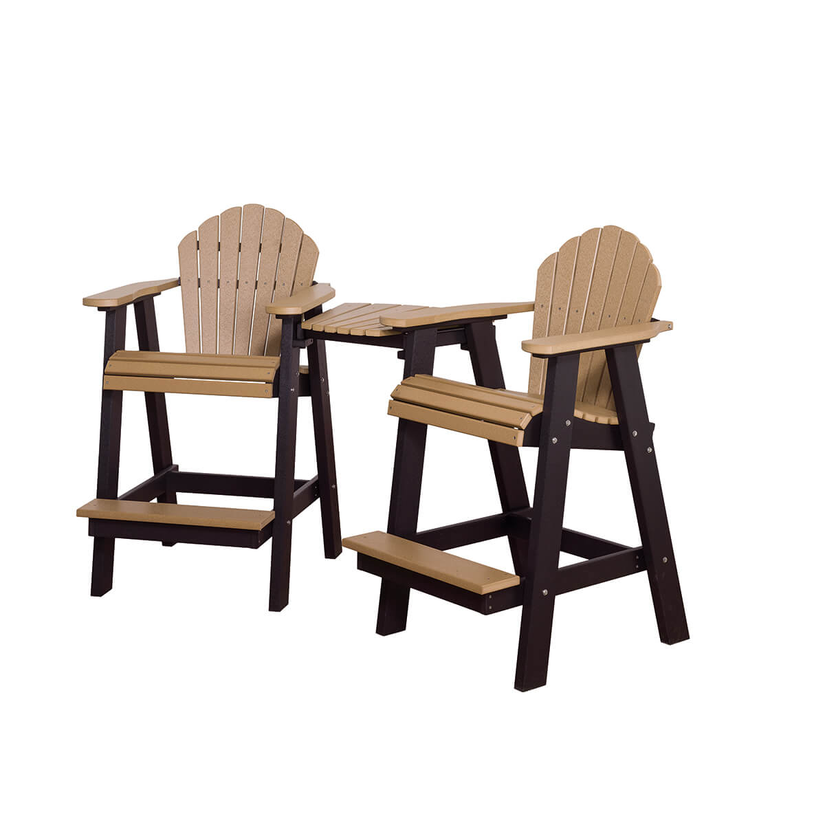 Cheyenne Balcony Chairs with Fusion Table