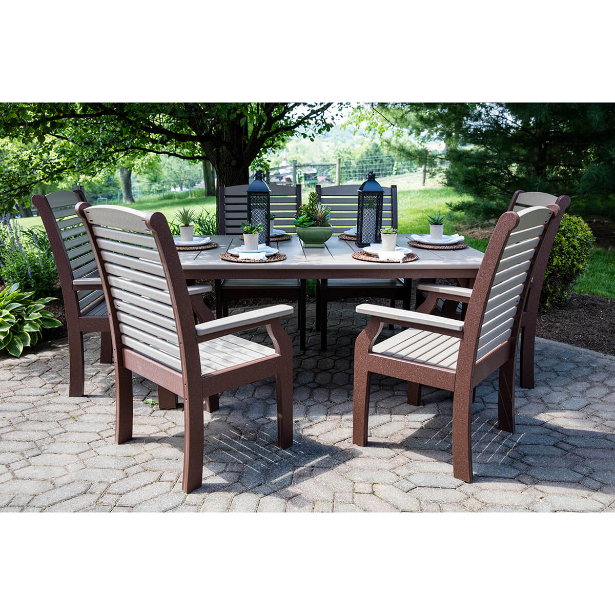 Homestead 44 Inch Square Dining Set