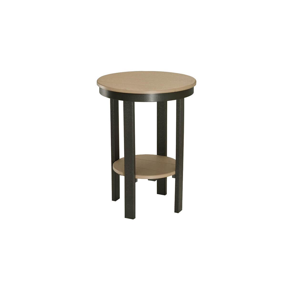 Round End Table – Counter Height